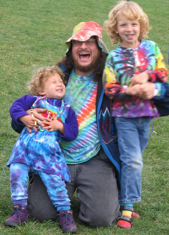 The Wild Child Support Team!  Nora, Bruce & Adin Sept. `05
