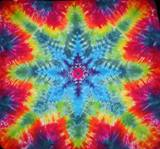 Tie Dyed Mandala Tapestry 10
