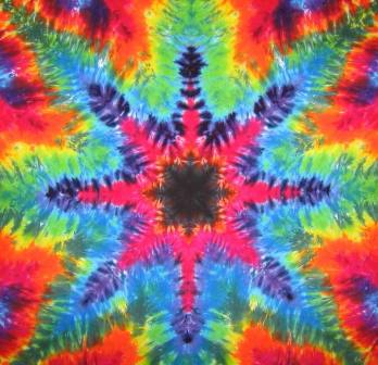 Tie Dyed Mandala Tapestry 20