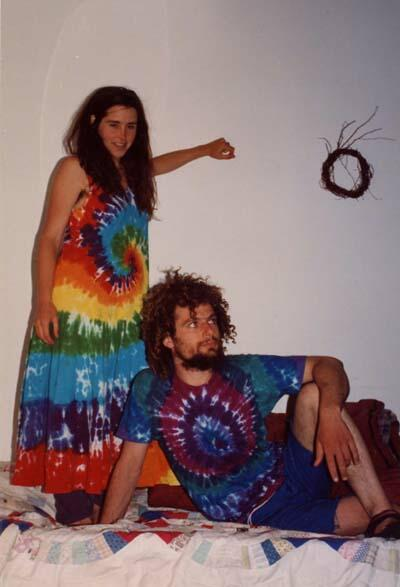 Eric and Brenda in a Dress and T-Shirt.